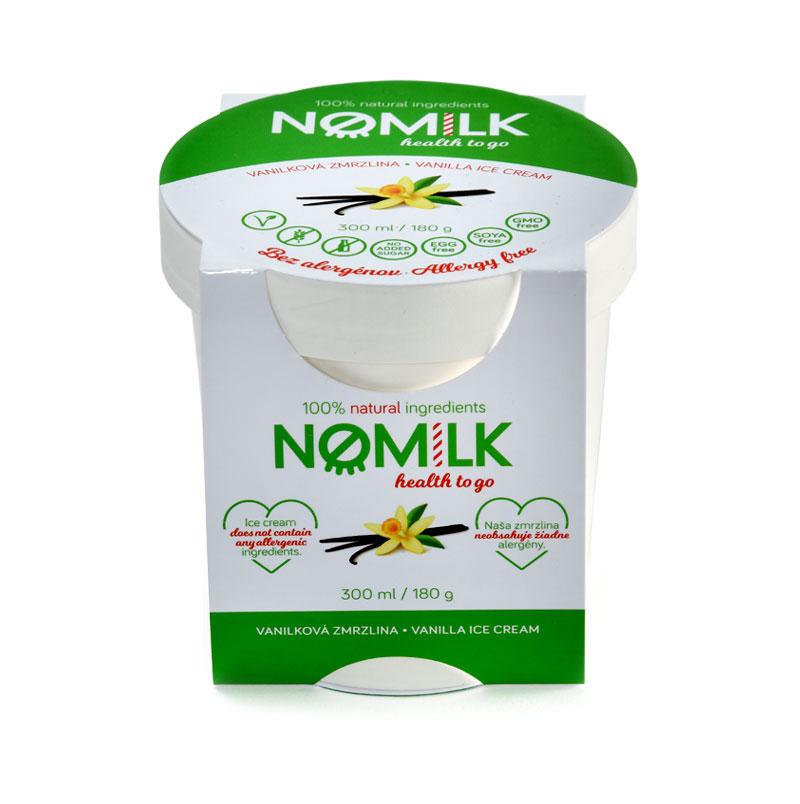NoMilk - Tejmentes, gluténmentes vanília fagylalt